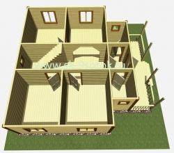 Дом 9х9 метра «9 Соток»
