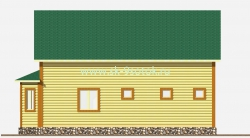 Дом 9х10 метра «Тауэр»